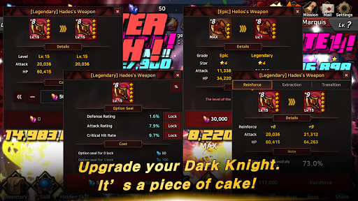 Dark Knight : Idle RPG game  screenshots 5
