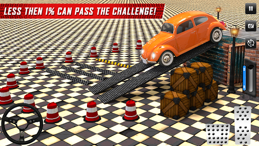 Classic Car Parking Real Driving Test apkpoly screenshots 1