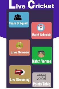 Live cricket 2020 : Live Streaming & Score App