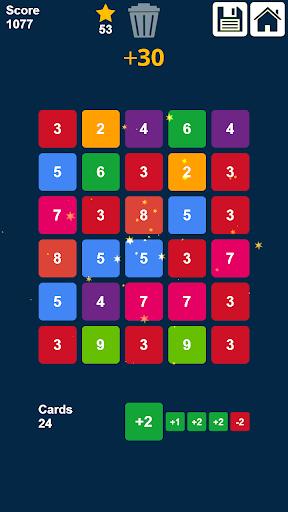 Télécharger glisser et fusionner des nombres: jeu de nombres APK MOD 1