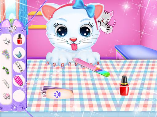 Cute Kitty Daycare Activity - Fluffy Pet Salon 6.0 screenshots 4