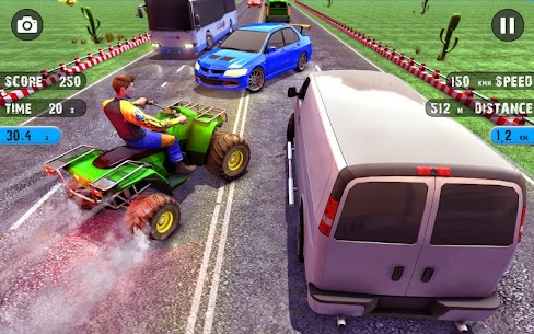 Quad ATV Traffic Racer 2