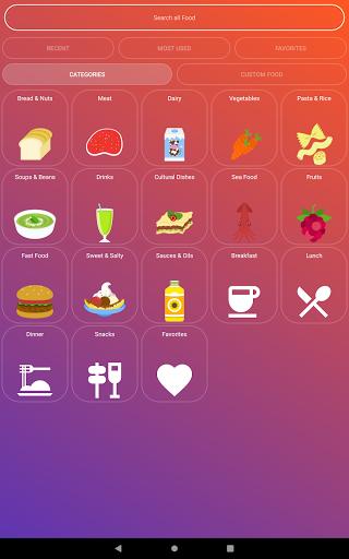 Calorie Counter - EasyFit free 4.0 Screenshots 8