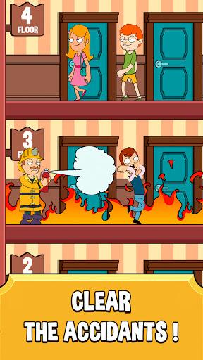 Hotel Elevator: Idle Fun Simulator Concierge mania apktram screenshots 2