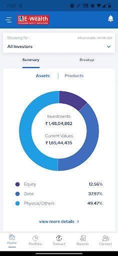 NJ E-Wealth Account  screenshots 1