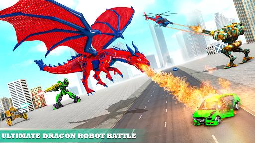 Multi Robot Car Transform Bat: Bus Robot Games 1.4 Screenshots 8