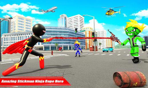 Real Police Stickman Rope Hero 18 Screenshots 3