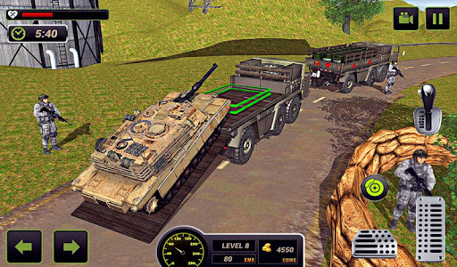 US Army Truck Driving 2018: Real Military Truck 3D apkpoly screenshots 14