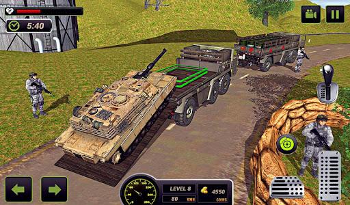 US Army Truck Driving 2021: Real Military Truck 3D apktram screenshots 14