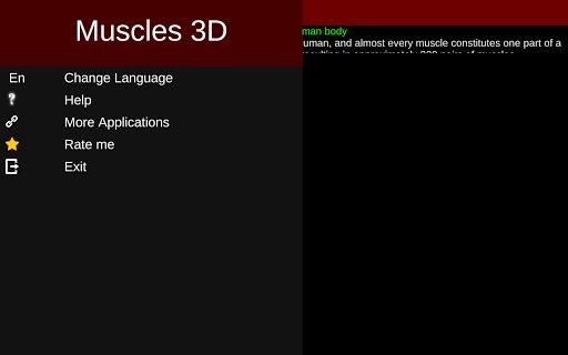 Muscular System 3D (anatomy) 2.0.8 Screenshots 16