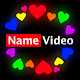 Neovid - Neon Name Video Maker with photo and song für PC Windows