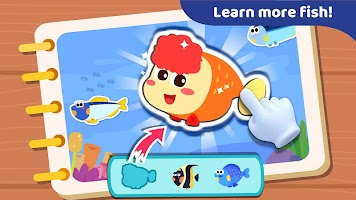 Baby Panda: Fishing