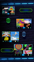 Blinking Neon Light Keyboard Theme