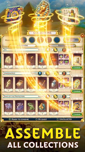 Pyramid of Mahjong: A tile matching city puzzle  screenshots 6