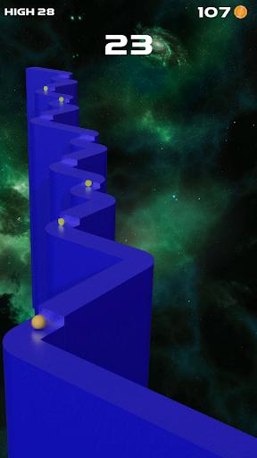 zigzag jump ball 2020 : big jump game screenshot 2