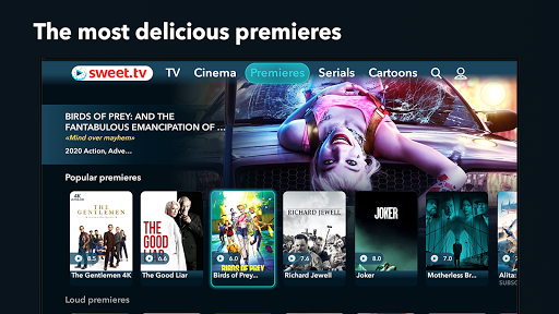 SWEET.TV - TV online for TV and TV-boxes screenshots 3