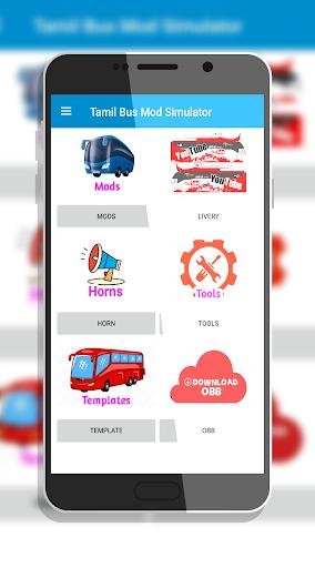 Tamil Bus Mod Livery | Indonesia Bus Simulator 1.2 screenshots 3