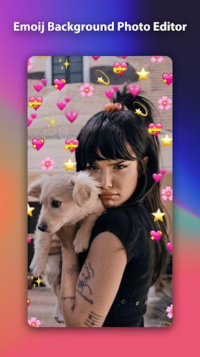 Emoji Background Photo Editor 1.0.0 Screenshots 4