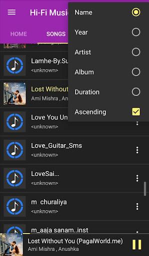 hi-fi music player- jp screenshot 3