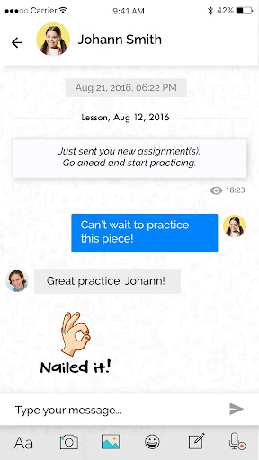 tonara - manage & motivate music students to play screenshot 3