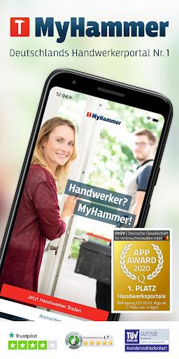 MyHammer Handwerkersuche ud83dudd28 4.1.0 Screenshots 1