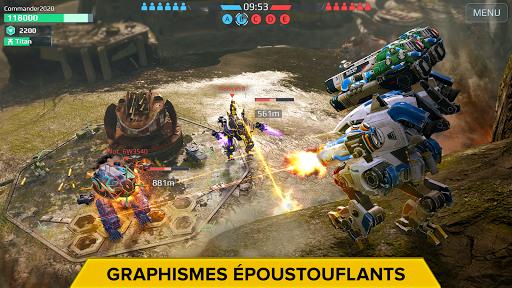 Télécharger War Robots. Batailles multijoueur tactiques 6v6  APK MOD (Astuce) screenshots 2