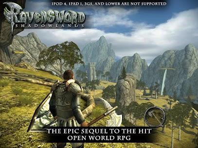 Ravensword Shadowlands 3d RPG APK MOD 2.1 4