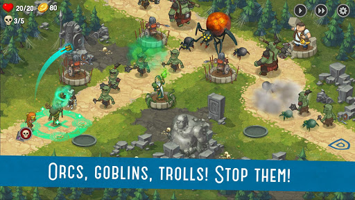 Orcs Warriors: Offline Tower Defense 1.0.28 Screenshots 5