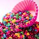 お菓子ライブ壁紙 - Androidアプリ