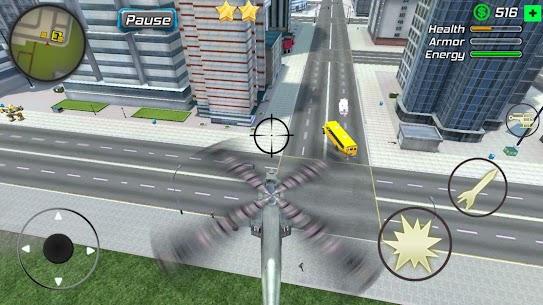 Super Crime Steel War Hero Iron Flying Mech Robot Mod Apk 1.2.5 (Free Shopping) 7