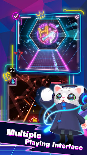 Sonic Cat - Slash the Beats  screenshots 4