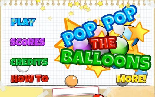 pop pop the balloons free screenshot 1