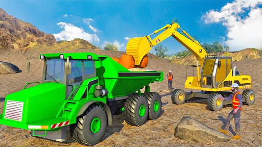 Heavy Excavator Simulator:Sand Truck Driving Game  screenshots 12