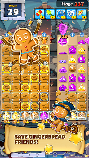 MonsterBusters: Match 3 Puzzle  screenshots 9