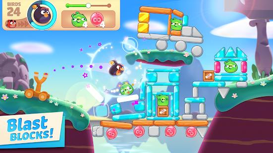 Schermata del viaggio di Angry Birds