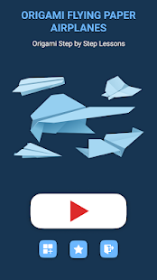 Origami Flying Paper Airplanes: step-by-step guide