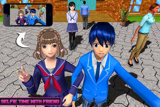 Virtual High School Life Simulator Offline 2020  screenshots 3