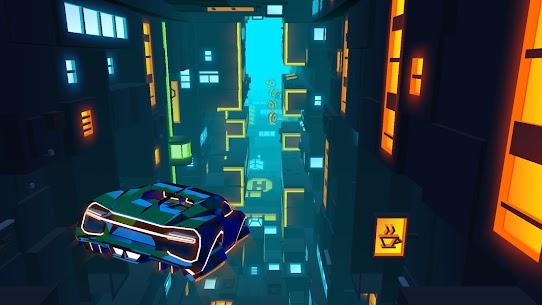 Neon Flytron: Cyberpunk Racer Mod Apk (Unlocked/No Ads) 6