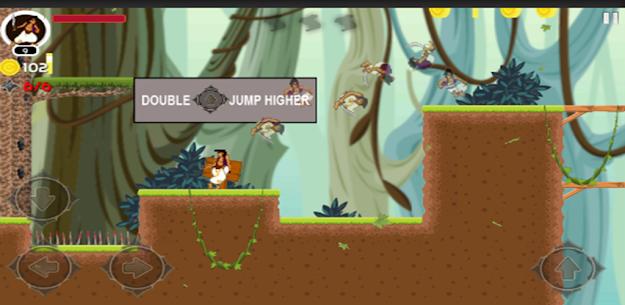 Aladdin jungle Adventures MOD APK (DUMB ENEMY) Download 2