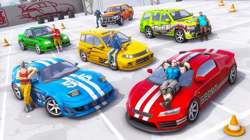Gangster Car Stunt Games: Mega Ramp Car Simulator screenshots 8