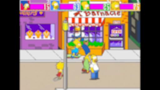 the simpson 4 players arcade guide screenshot 2