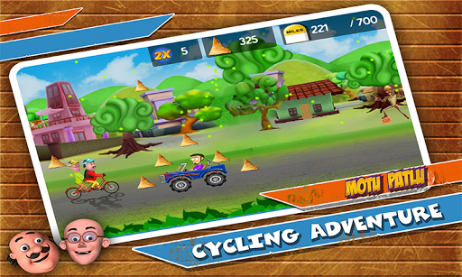 Motu Patlu Cycling Adventure 1.1.2 screenshots 3