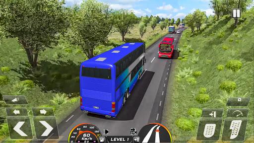 Real Bus Simulator Driving Games New Free 2021 2.1 screenshots 9