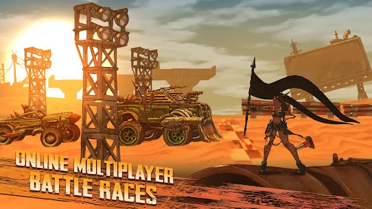 Road Warrior Mod Apk: Combat Racing (No Ads) Download 2