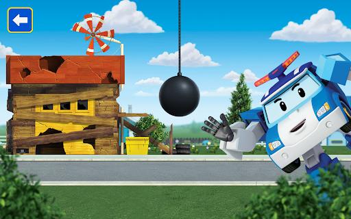 Robocar Poli: Builder! Games for Boys and Girls!  screenshots 16