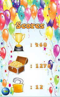 Smash Balloons - Catch Drop Bubbles Game Screenshot