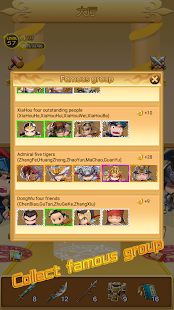 Three Kingdoms Rush-Collect all characters