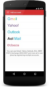 Mails – Yahoo, Outlook & more 1
