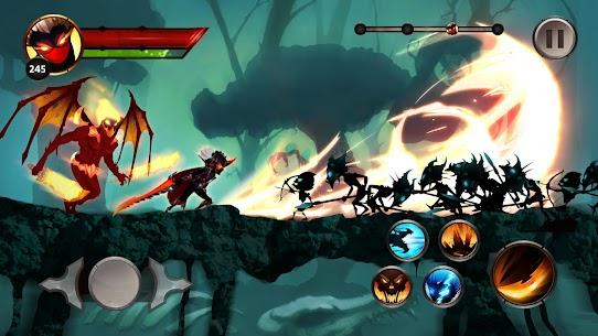Stickman Legends Shadow Fight Offline Sword Game Hileli Apk Güncel 2021** 3