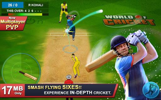 World of Cricket : World Cup 2019 modiapk screenshots 1